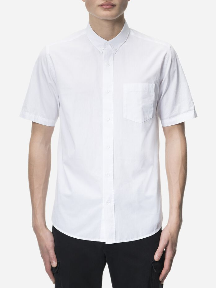 Dean kortärmad skjorta för herrar White | Peak Performance