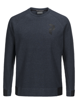 Herren Tech Rundhalspullover Salute Blue | Peak Performance