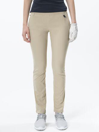 Damen Golf Swinley Shorts Slow Beige | Peak Performance