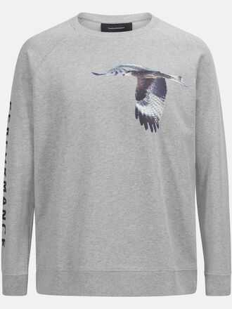 Col rond Pour Unisex Enter the Wild Med Grey Mel | Peak Performance