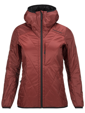 Women's Helo Liner Jacket Dusty Wine | Peak Performance