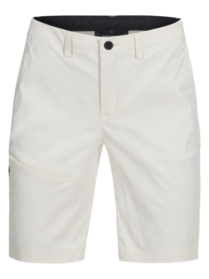 Women's Treck Long Shorts Milk White | Peak Performance