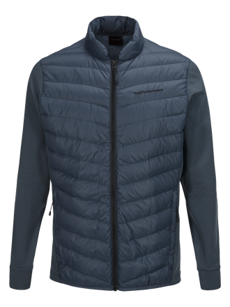 Herren Frost Hybrid Jacke Blue Steel | Peak Performance