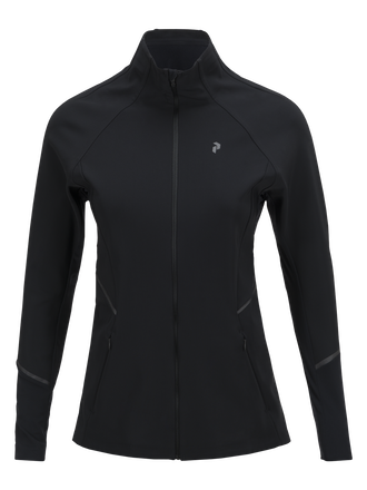 Women's Kezar Running Jacket Black | Peak Performance