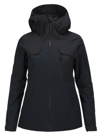 Women's Ironton Ski Jacket Salute Blue | Peak Performance