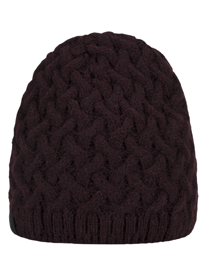 Embo Knitted Hat Mahogany | Peak Performance