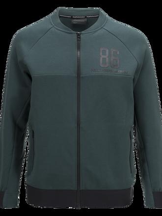 Men's Tech Zipped Jacket Noble Green | Peak Performance