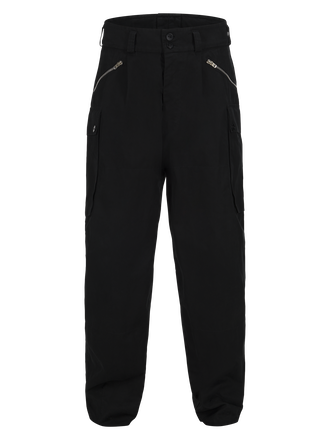 Unisex Canvas Fatigue Pant Black   Peak Performance