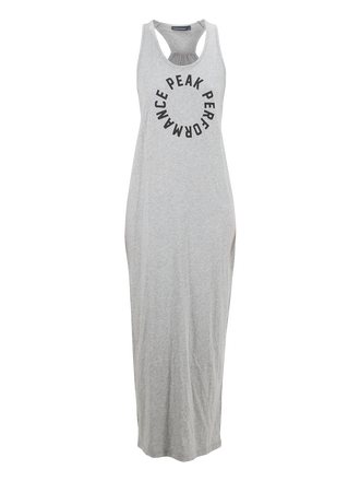 Women's Tank Long Dress Med Grey Mel | Peak Performance