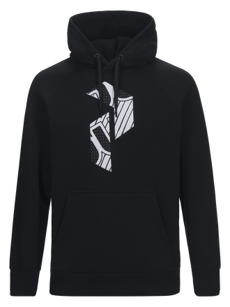 Men's Art Hoodie Black | Peak Performance
