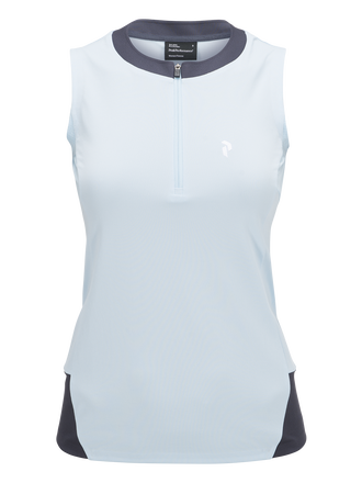 Women's Golf Leyland Sleeveless Top Bluebell | Peak Performance