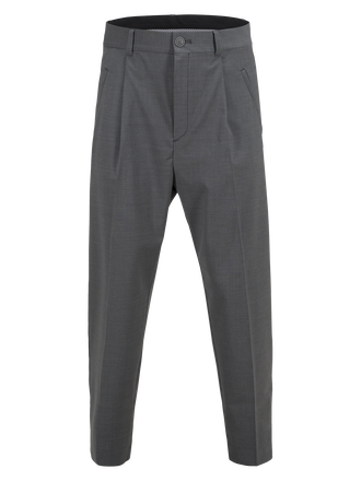 Men's Doc Wool Pant Grey melange | Peak Performance