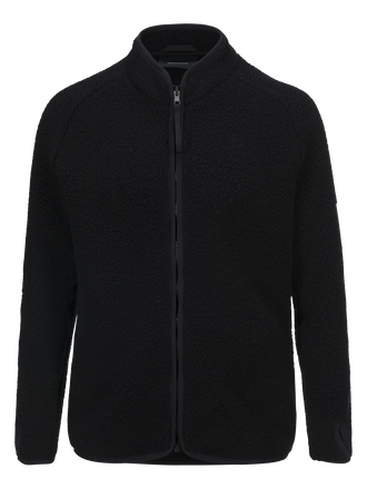 Men's Ted Zipped Sweater Black | Peak Performance