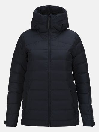Damen Spokane Daunen Skijacke Salute Blue | Peak Performance