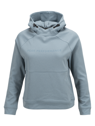 Women's Pulse Hooded Mid-Layer Dustier Blue | Peak Performance