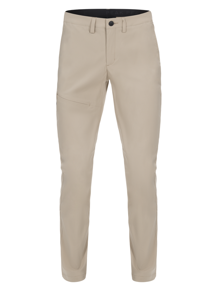 Women's Treck Pants Slow Beige | Peak Performance