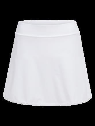 Women's Golf Somerset Skirt White   Peak Performance