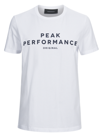Men's logo II T-shirt White | Peak Performance