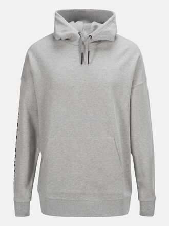 Unisex Enter the Wild Hoodie Med Grey Mel | Peak Performance