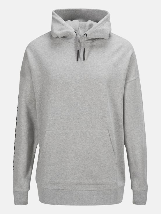 Enter the Wild Unisex Tröja Med Grey Mel | Peak Performance