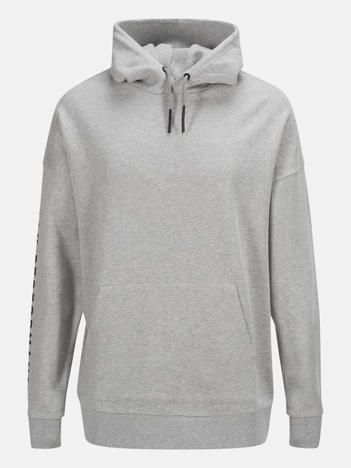 Capuche Unisex Enter the Wild Med Grey Mel | Peak Performance