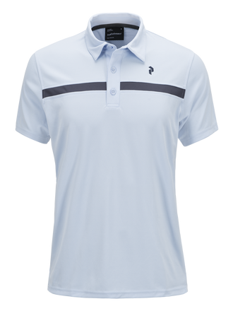 Men's Golf Striped Polo