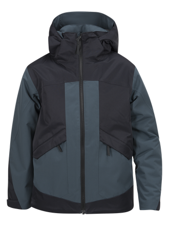 Kids Fernie Ski Jacket Blue Steel | Peak Performance
