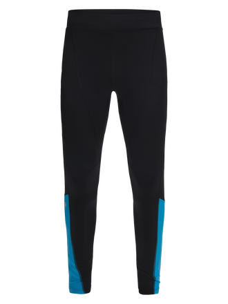 Men's Block Running Tights Black | Peak Performance