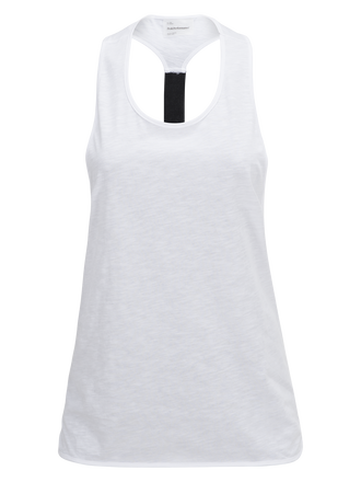Women's Tech Racer Back Tank White | Peak Performance