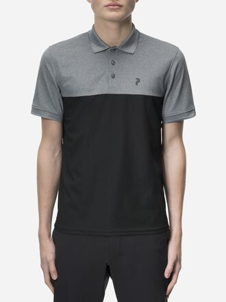 Men's Golf Spin Polo Black | Peak Performance