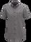 Luke kortärmad skjorta för herrar Dk Grey Mel | Peak Performance