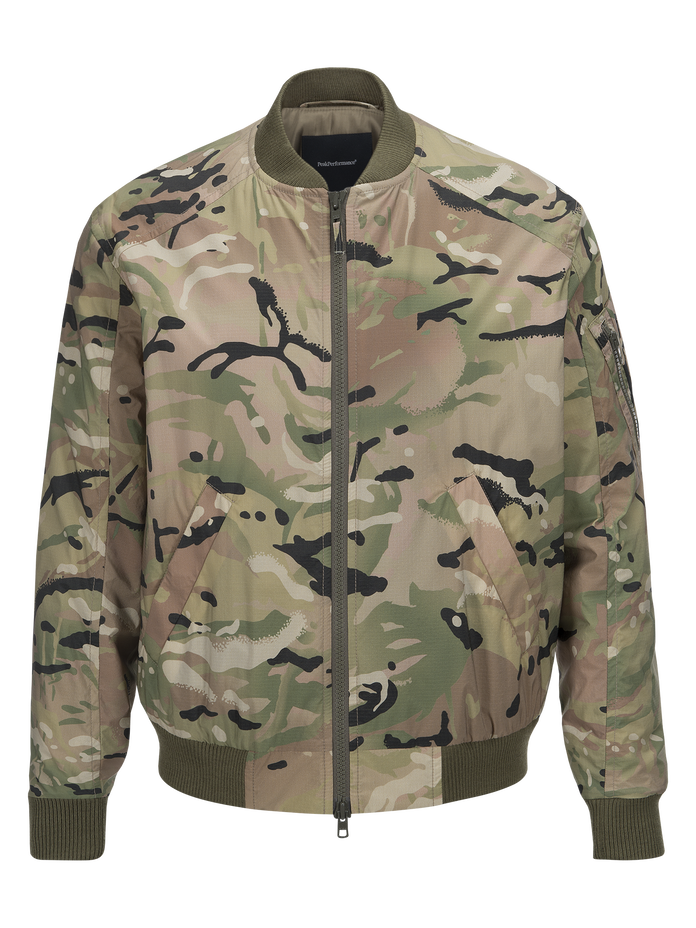 Men's Spectrum Camo Jacket Pattern | Peak Performance