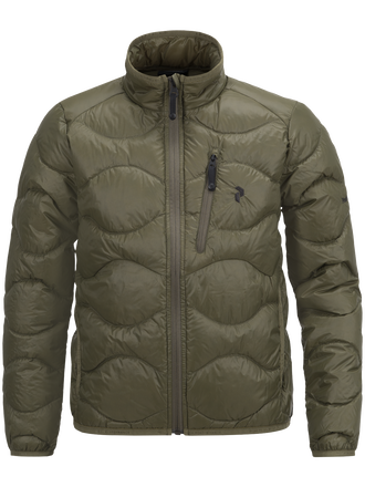 Kids Helium Jacket Soil Olive | Peak Performance