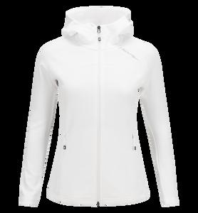 Veste intermédiaire zippée à capuche pour femmes Kate