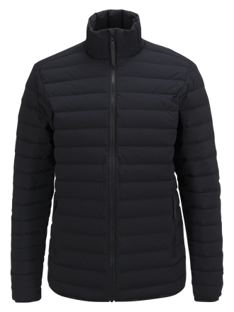 Herren Stretch Daunen Linerjacke Black | Peak Performance
