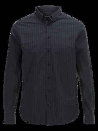 Keen rutig poplinskjorta för herrar PATTERN | Peak Performance
