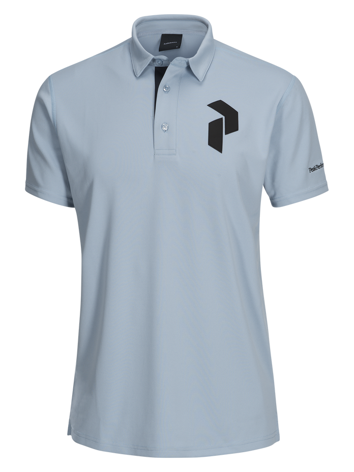 Men's Golf Panmore Polo Downy Blue | Peak Performance
