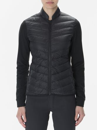 Damen Frost Hybrid Jacke Black | Peak Performance
