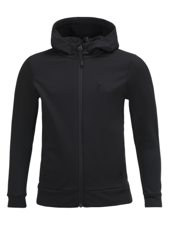 Kids Ace Hooded Zipped Mid-Layer