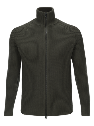 Men's Curtis Zipped Sweater Terrain Green | Peak Performance