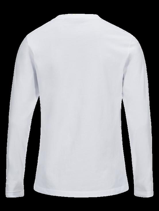 Logo långärmad herrtröja White | Peak Performance