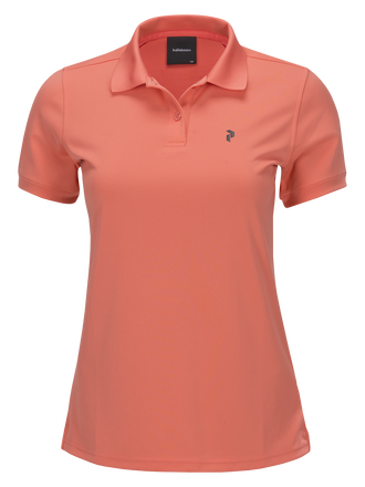 Damen Golf Elsham Poloshirt Digital Pink | Peak Performance