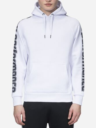 Men's Sportswear Printed Hoodie White | Peak Performance