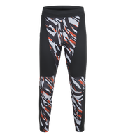 Men's Block Printed Running Tights