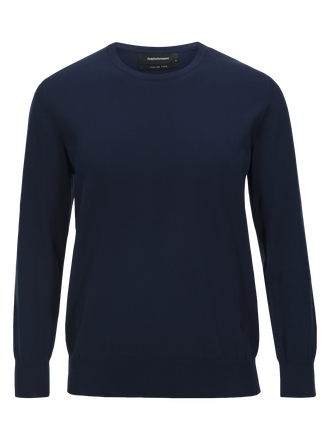 Herren James Rundhalsausschnitt Thermal Blue | Peak Performance