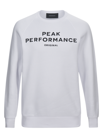 Men's Logo Crew neck White | Peak Performance