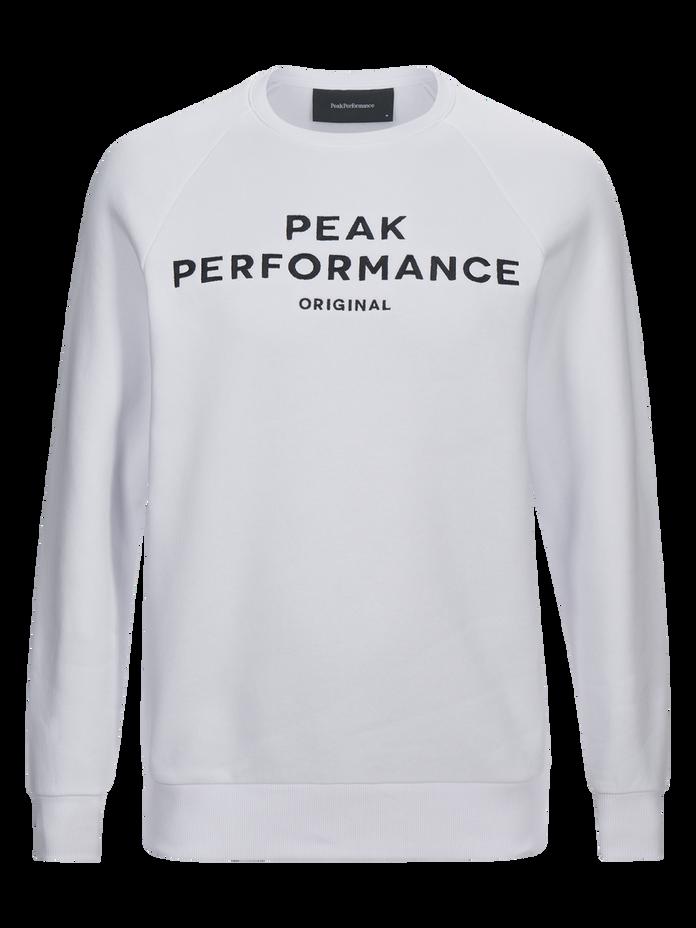 Logo herrtröja med rund halsringning White | Peak Performance