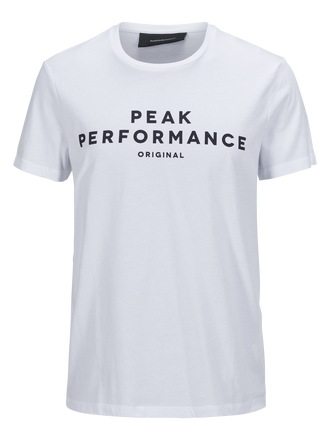 Herren Logo II T-Shirt White | Peak Performance