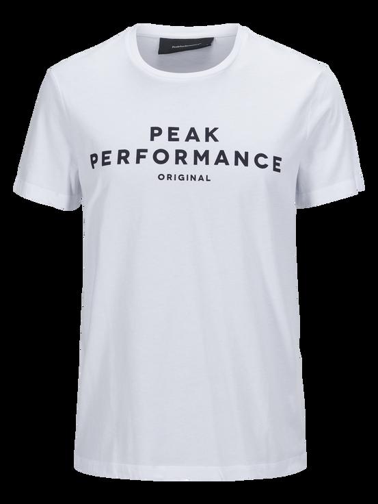 Logo II t-shirt för herrar White | Peak Performance