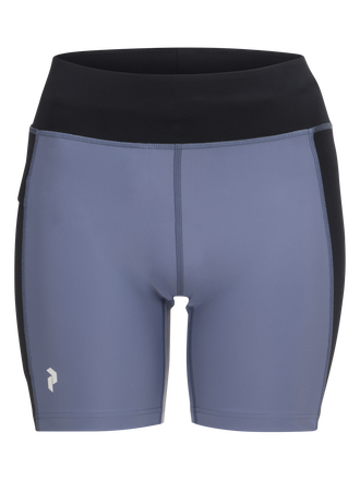 Women's Block Running shorts Black | Peak Performance